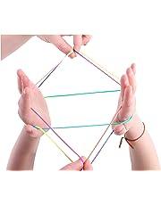 Toyland Cradle Cradle - Magical String Art - des Tours Multicolores - Amusement Classique