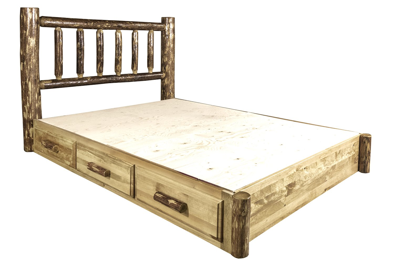 Log Bed Frames California King Best 25 Diy King Bed
