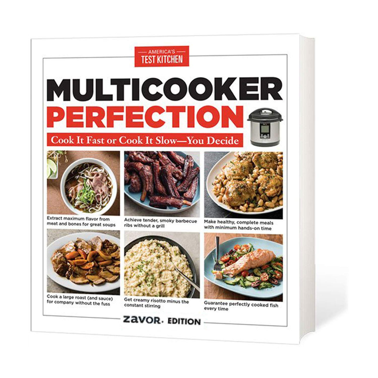 Zavor LUX LCD 6-Quart Programmable Electric Multi-Cooker with Multi-Cooker Perfection Cookbook by Zavor (Image #5)