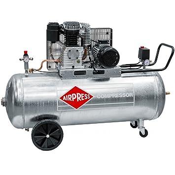 BRSF33 ® ölgeschmierter Compresor De Aire Comprimido GK 600 - 200 (3 KW, 10 bar, 200L Caldera, 400 V) Gran pistón de Compresor: Amazon.es: Bricolaje y ...
