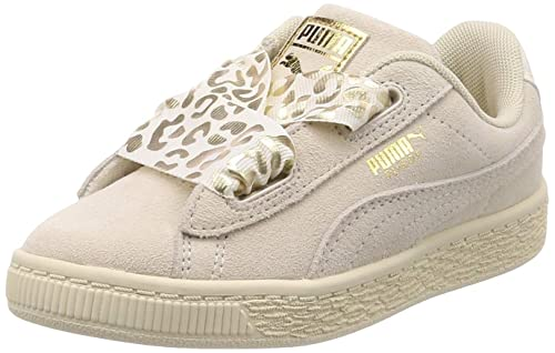 Puma Suede Heart Athluxe PS, Zapatillas para Niñas: Amazon.es: Zapatos y complementos