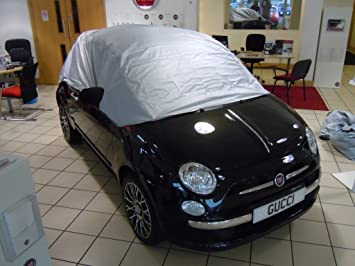 Fiat 500 Half Cover Soft Top Hard Top Car Cover Amazon Co Uk Car