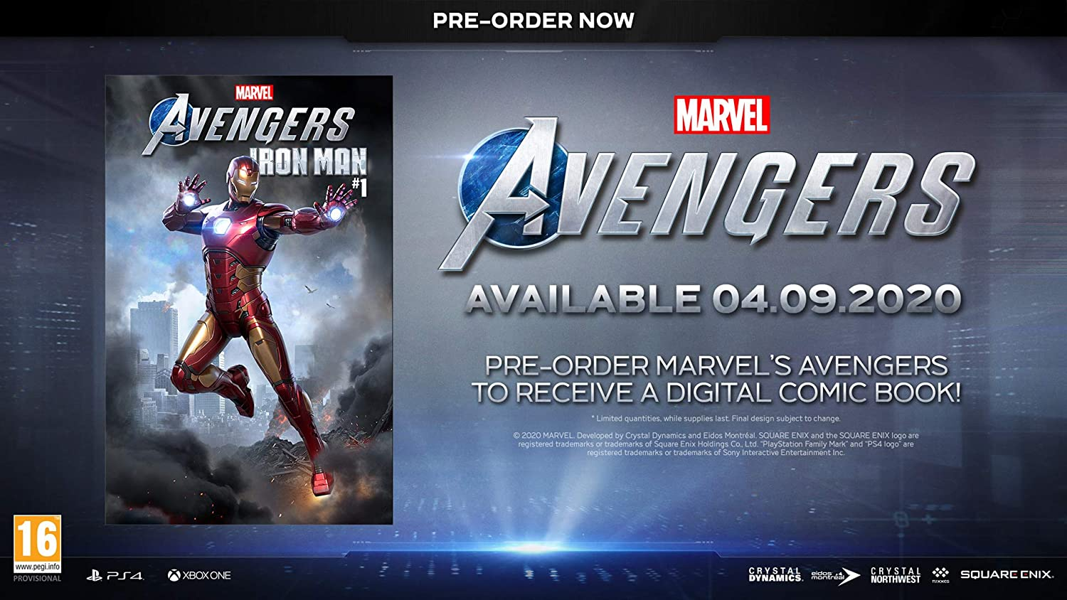 Marvels Avengers with Iron Man Digital Comic (Exclusive to ...