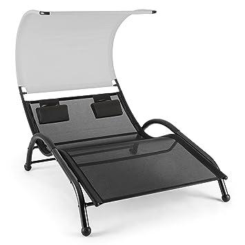 Blumfeldt Dandyland - Double transat à bascule / Chaise longue pour ...