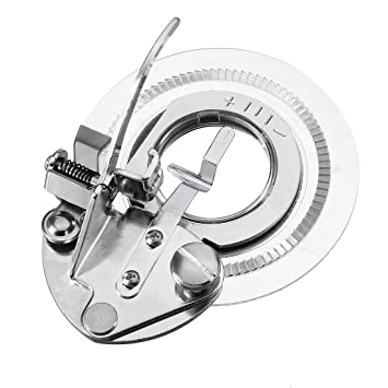 TOOGOO(R) Prensatelas de maquina de coser aguja de flor margarita decorativa universal - Se adapta a todas las maquinas de coser rapidas de cana baja: ...