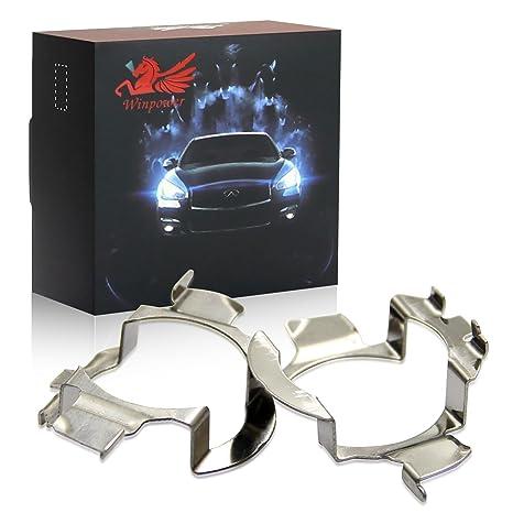 Win Power H7 LED bombilla Base Clips Adaptador Poseedor apoyo, 2 piezas