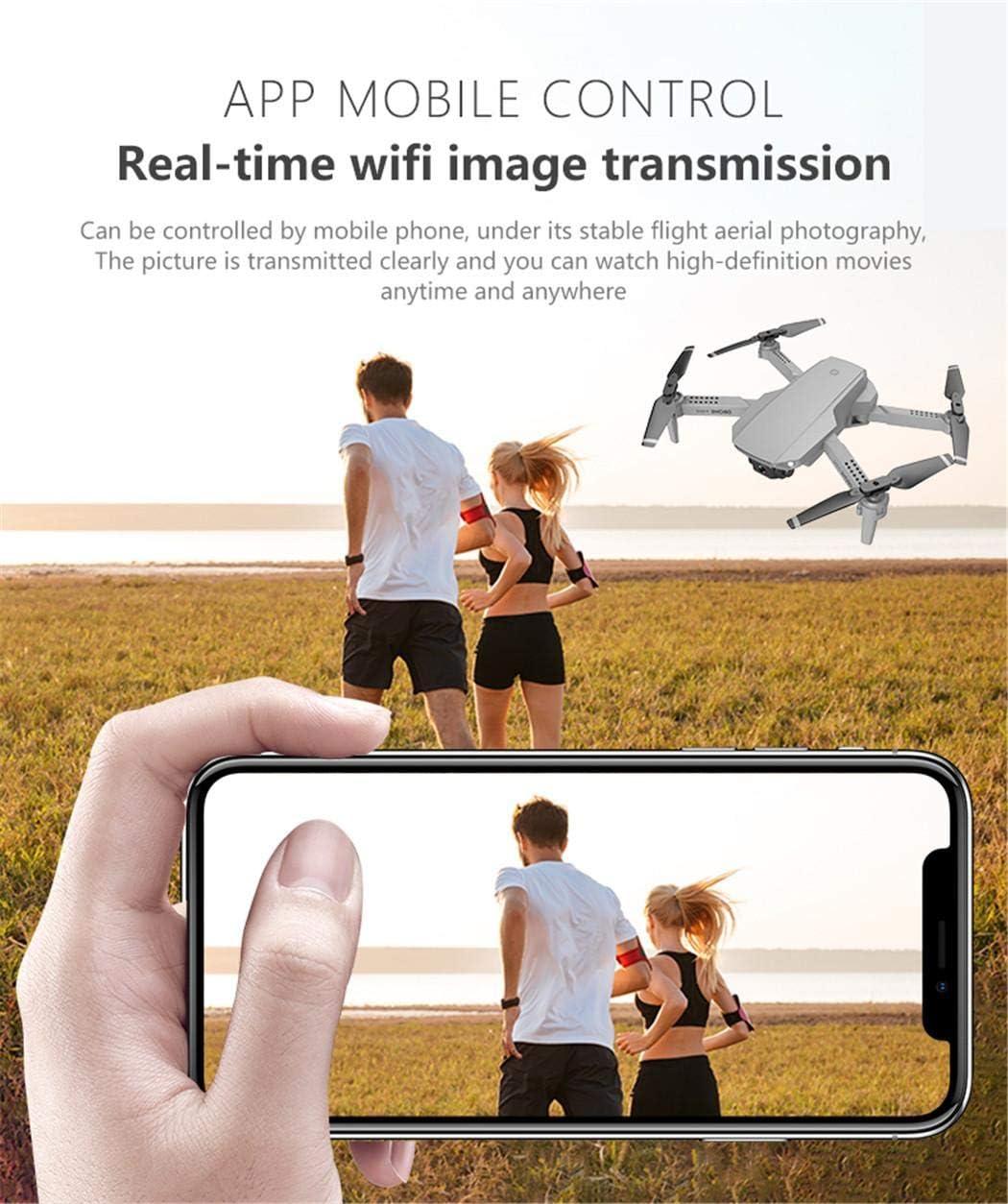 Fandazzie E88 Mini UAV 4K Aerial Picture Folding Quadcopter Camping Grills