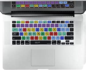 """Dogxiong Adobe Photoshop Shortcuts Hot Keys PS Silicone Keyboard Cover Keyboard Skin Protection for MacBook Air 13 inch(No-Touch ID) ; for MacBook Pro 13"""" 15"""" (2015Rd Before)"""