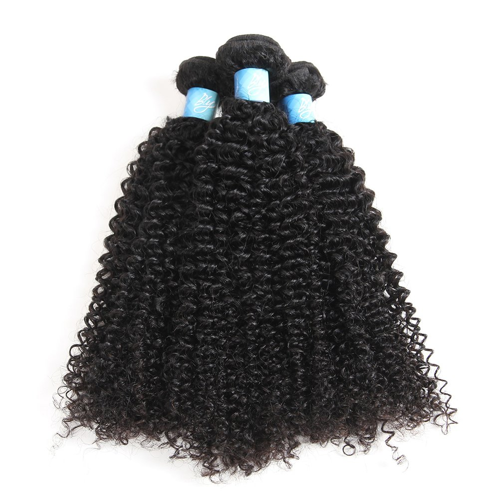 Amazon Bly 7a Mongolian Virgin Kinky Curly Human Hair Bundles