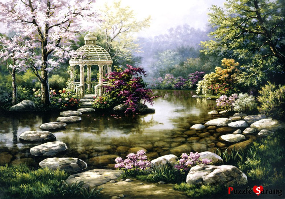 1000 Piece Jigsaw Puzzles Calm shelter Puzzlelife