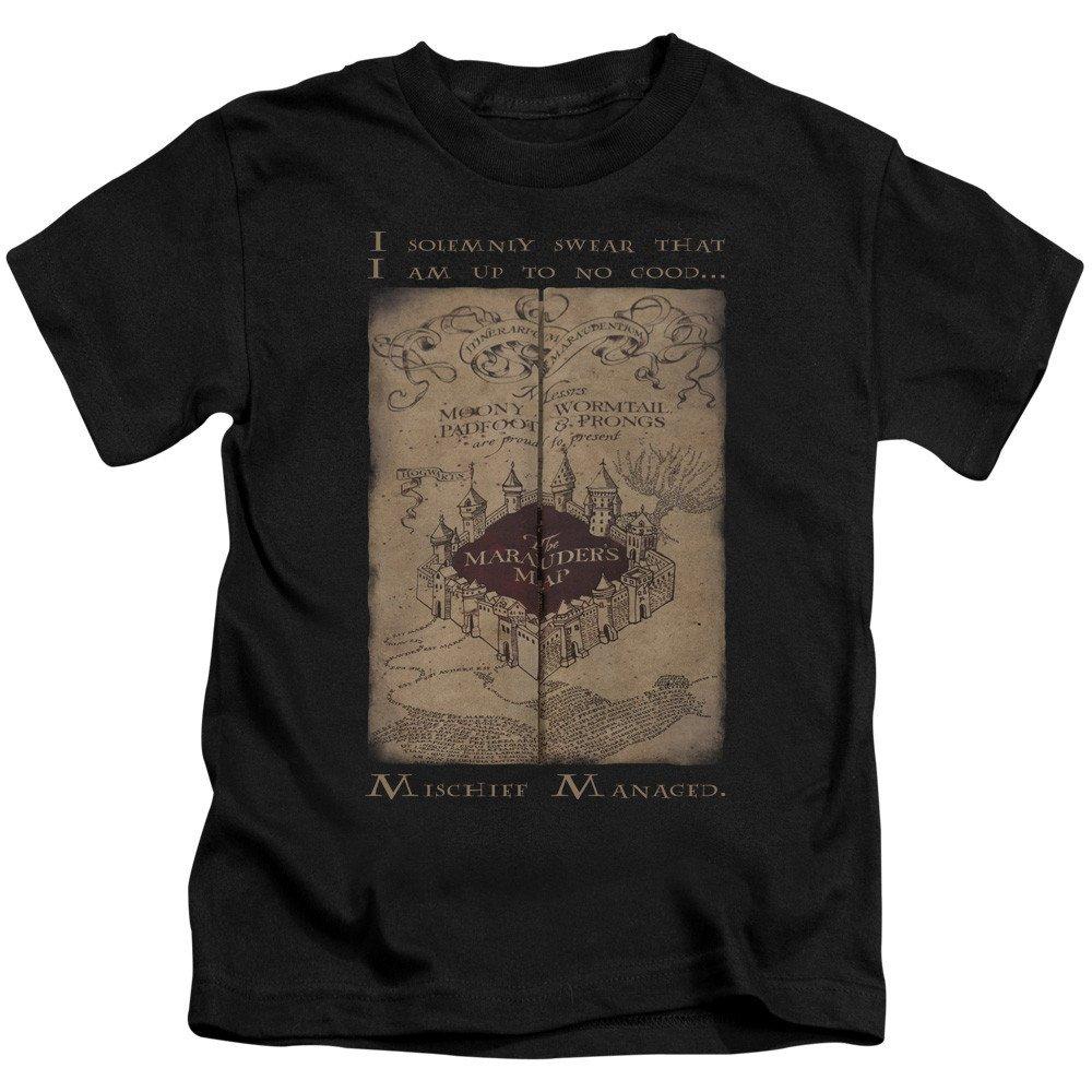 Marauders Map Words Kids T-Shirt Harry Potter