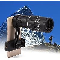 Monocular Telescope, Aramox 16x52 Dual Focus Monocular Telescope HD Camera Lens Optics Zoom Telescope 66m/ 8000m for Birds Watching/ Wildlife/ Camping/ Hiking/ Tourism/ Armoring/ Live Concert