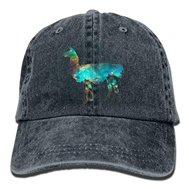 Llama Star Sky Trend Printing Sombrero de Vaquero Gorra de béisbol ...