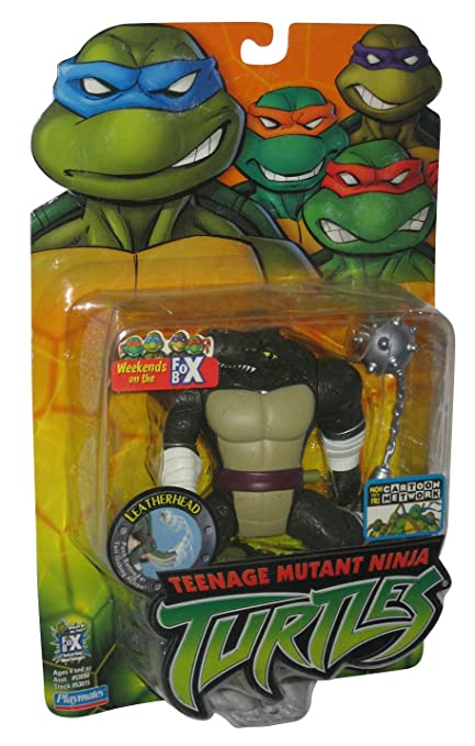 Amazon.com: TMNT Leatherhead Figura de acción con accesorios ...
