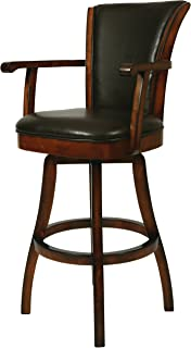 pastel furniture glenwood swivel barstool with arms - Pastel Furniture