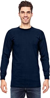 product image for Bayside Apparel 6.1 oz. Long-Sleeve Basic T-Shirt (BA6100)
