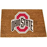 NCAA Ohio State University Colored Logo Door Mat, One Size, Multicolor
