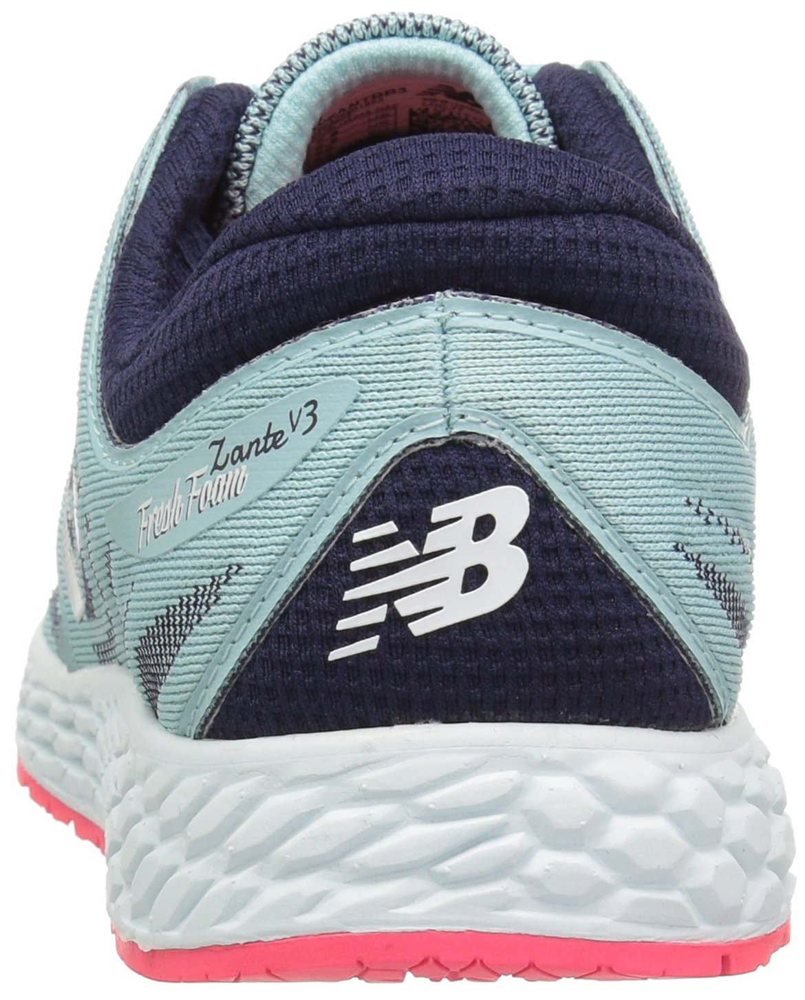 New Balance Women's ZanteV2 Breathe Running Shoe B01FSJ4KSK 6.5 D US|Ozone Blue/Bright Cherry