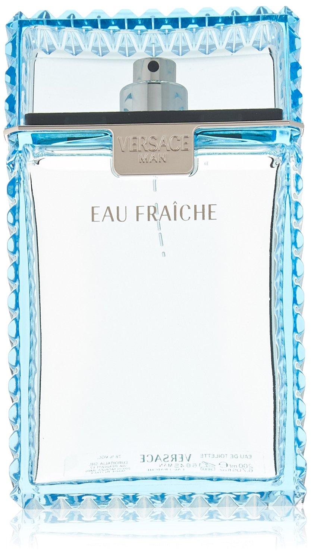 Men's Versace Man Eau Fraiche by Versace Eau de Toilette Spray - 6.7 oz