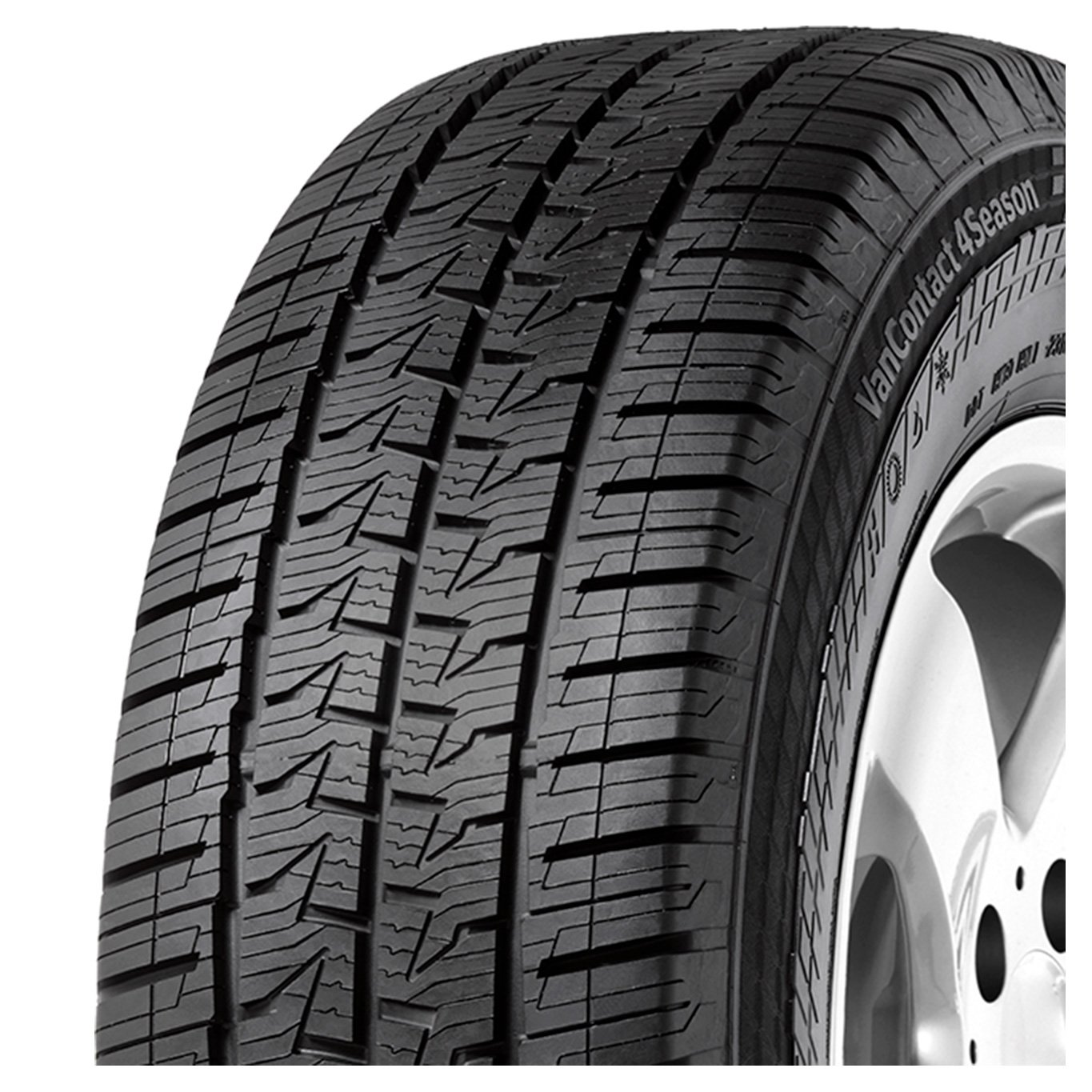 CONTINENTAL 205/65 R16-65/205/R16 107T - B/A/73dB - Tyres All-Season (Light Truck)