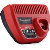 Powerextra replacement Charger for Milwaukee 48-59-2401 M12 Lithium-Ion Charger