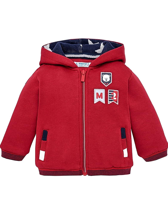 Mayoral, Chaqueta para bebé niño - 2491, Rojo: Amazon.es: Ropa y accesorios