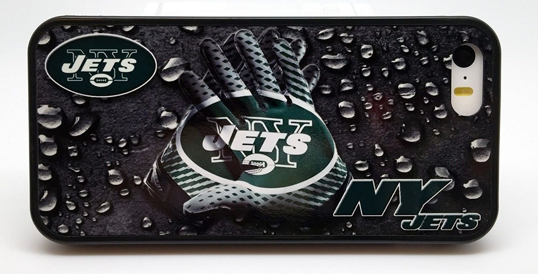 New York Jets Football Gloves電話ケースカバー – 選択モデル iPhone 6 PLUS  B074S71W2X