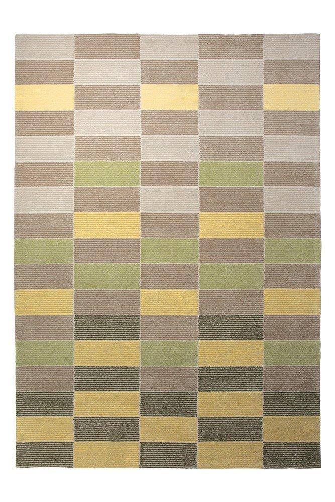 Handgefertigter Teppich Fida in Gelb Teppichgröße: 200 x 300 cm