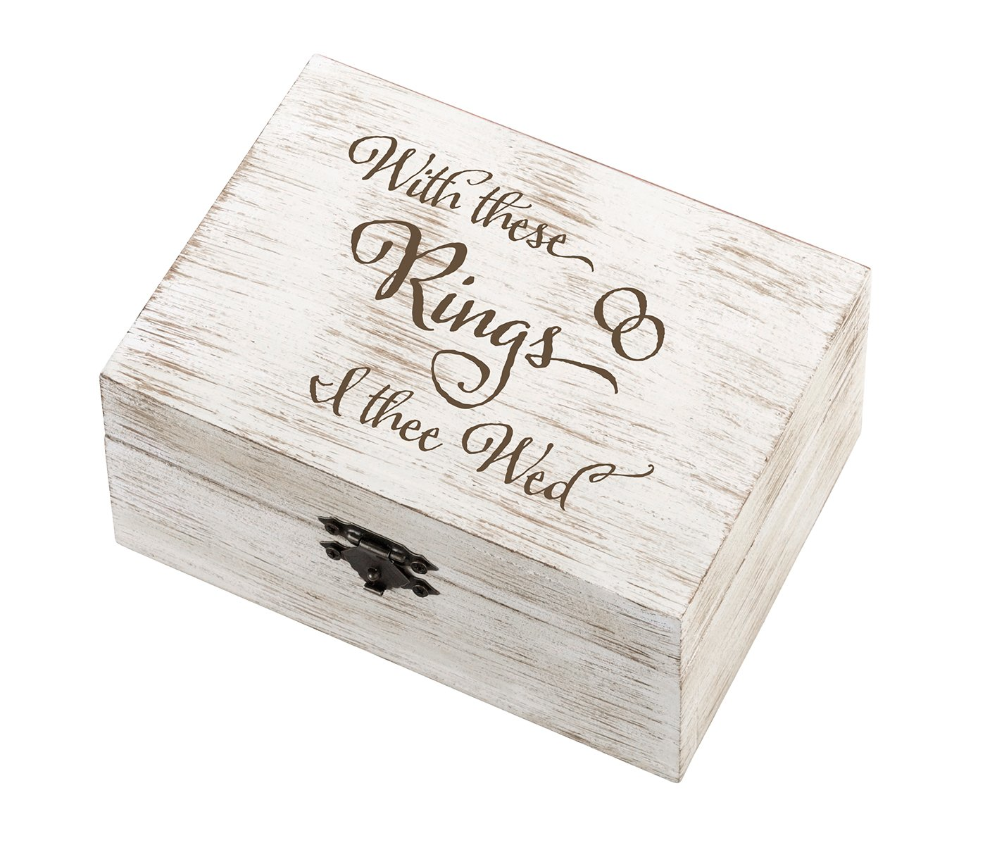 Amazon.com: Lillian Rose - Anillo de boda rústico de 6.5 x ...