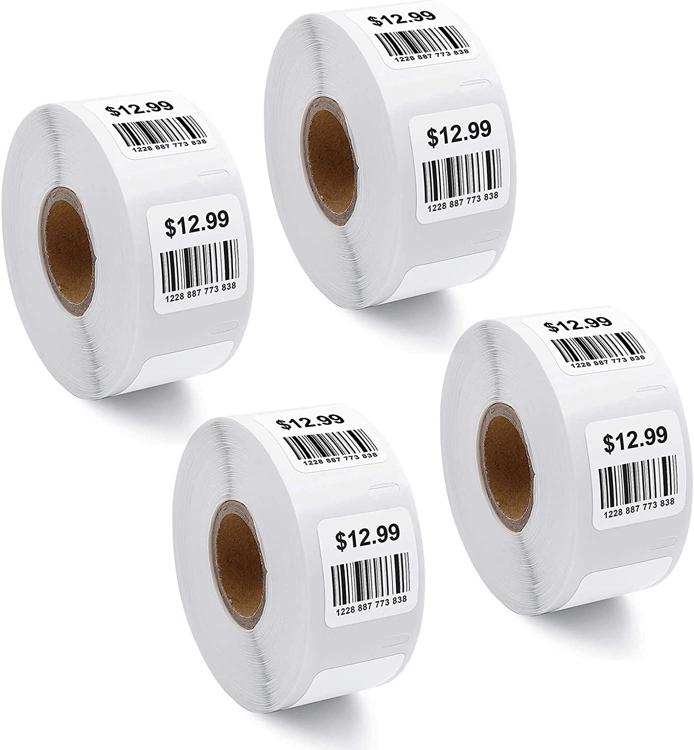 5 Rouleaux RINKLEE 11352 S0722520 /Étiquettes Compatible pour DYMO LabelWriter 4XL 450 400 330 320 310 Duo//Turbo//Twin Turbo SEIKO SLP 450 430 420 410 400 200 100 25 x 54 mm