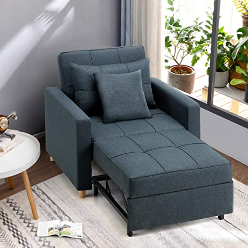 Esright Convertible Chair Bed 3-in-1