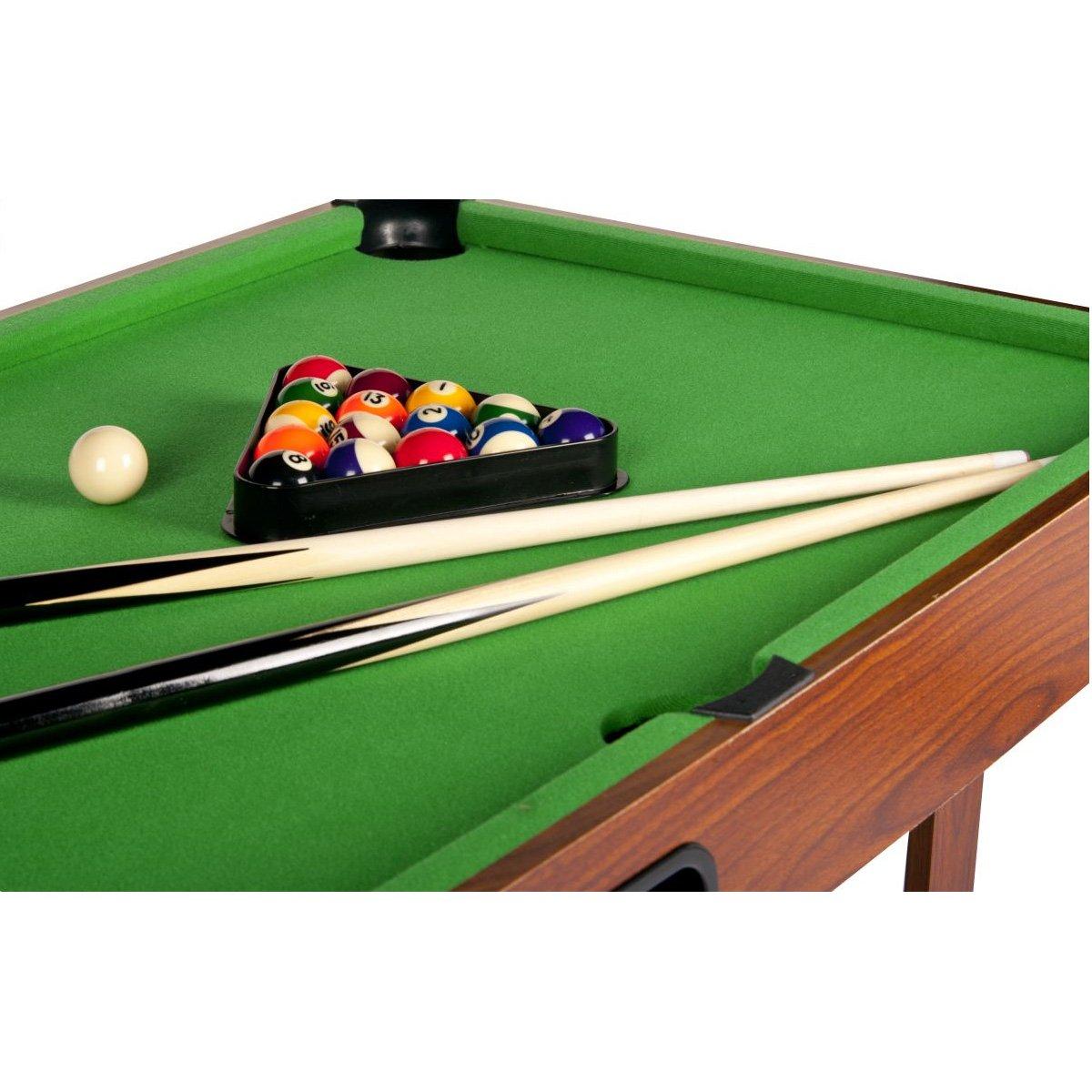 Super Big Children\'s Kids Wooden Portable Pool Table by Leomark ...
