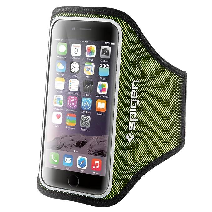 Handy Armband, Spigen Velo [Passt Perfekt] [Geringes Gewicht] Sportarmband Universal Sport Armbinde Armtasche Jogging / Gymna