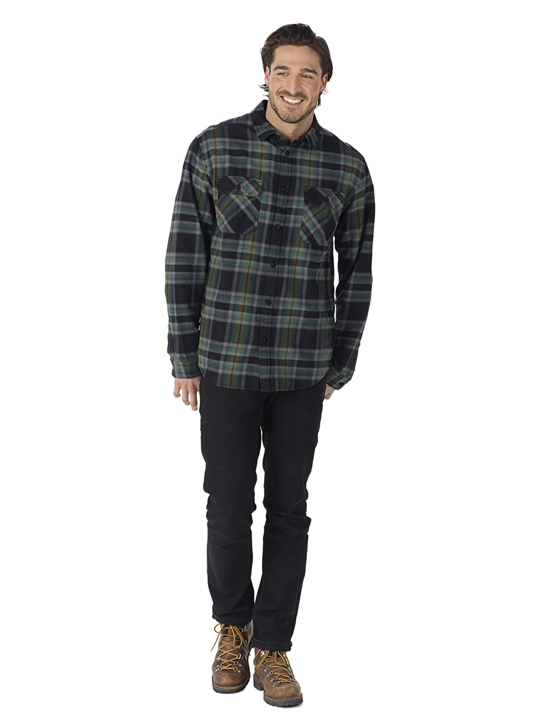 Burton Mens Brighton Flannel Button Down Shirt