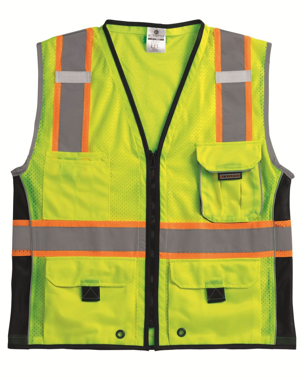 Small Product Image of ML Kishigo 1513 Ultra-Cool Polyester Heavy-Duty Protection Vest