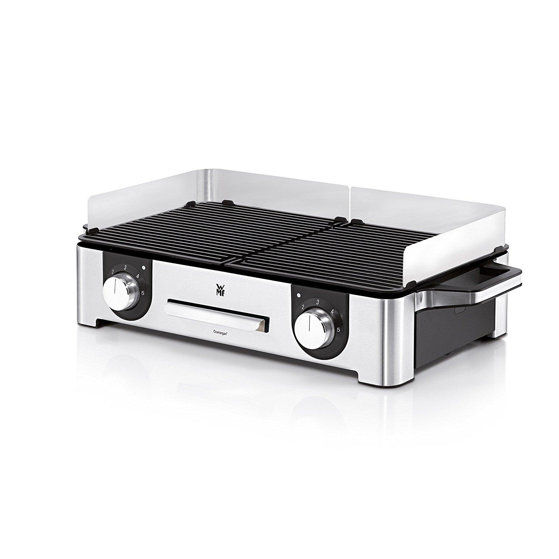 Amazon.de: WMF Lono Master-Grill, Elektrogrill, 2400 W, 2 getrennt ...