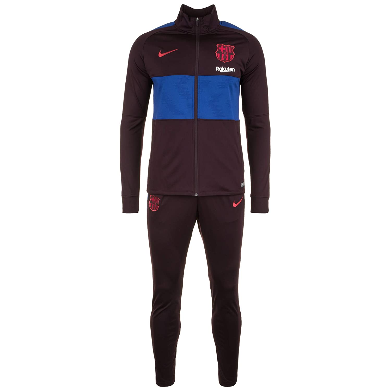 Nike 2019-2020 Barcelona Dry Strike Tracksuit (Burgundy Ash ...