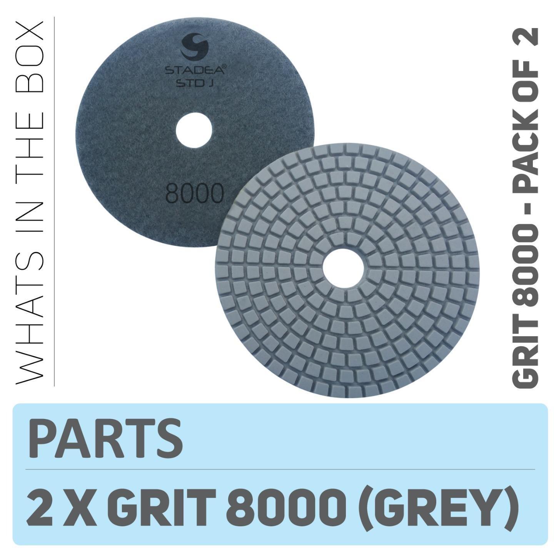 Stadea Ppw136d Diamond Polishing Pads 4 Inch Grit 50 For