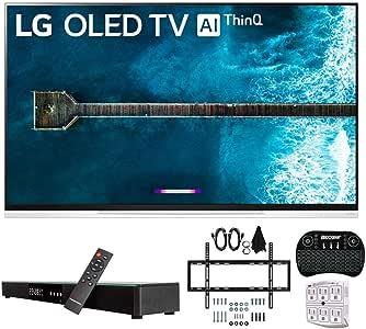 LG E9 4K HDR OLED cristal Smart TV w/AI ThinQ (2019) con barra de sonido incluida, Deco Gear Home Theater Surround Sound 31