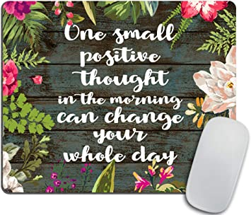 com inspirational positive quote about happiness mouse