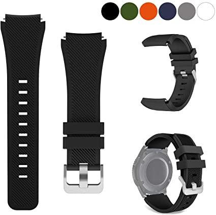 kitway Galaxy Watch 46mm / Gear S3 Correa, Silicona Suave ...