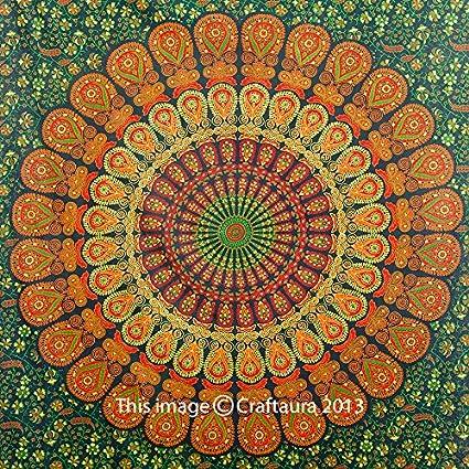Mandala Tapices Tapiz Hippie Wall Tapestry Tapices Indios Por Do - Mandalas-indios