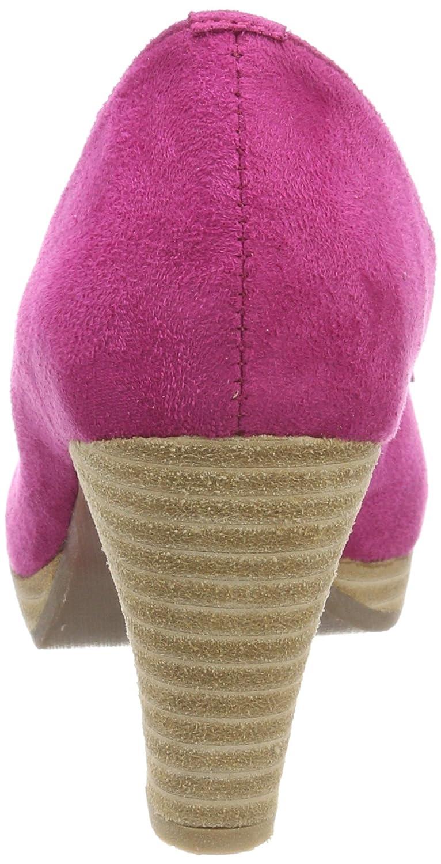 Andrea Conti Pink 0733109 Damen Peeptoe Pumps Pink Conti (Pink) 6fdff2