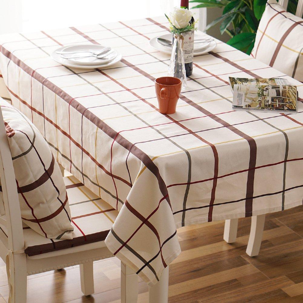 ZXY Manteles decorativos escritorio estilo minimalista moderno, fácil de manteles limpios, casa de material de algodón y paño de cubierta del  caliente el,A1,120160cm