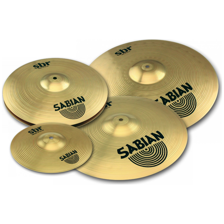 Sabian SBR 4-piece Performance Set with FREE 10'' Splash