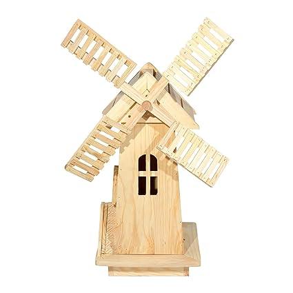 Shine Company Decorative Windmill, Natural