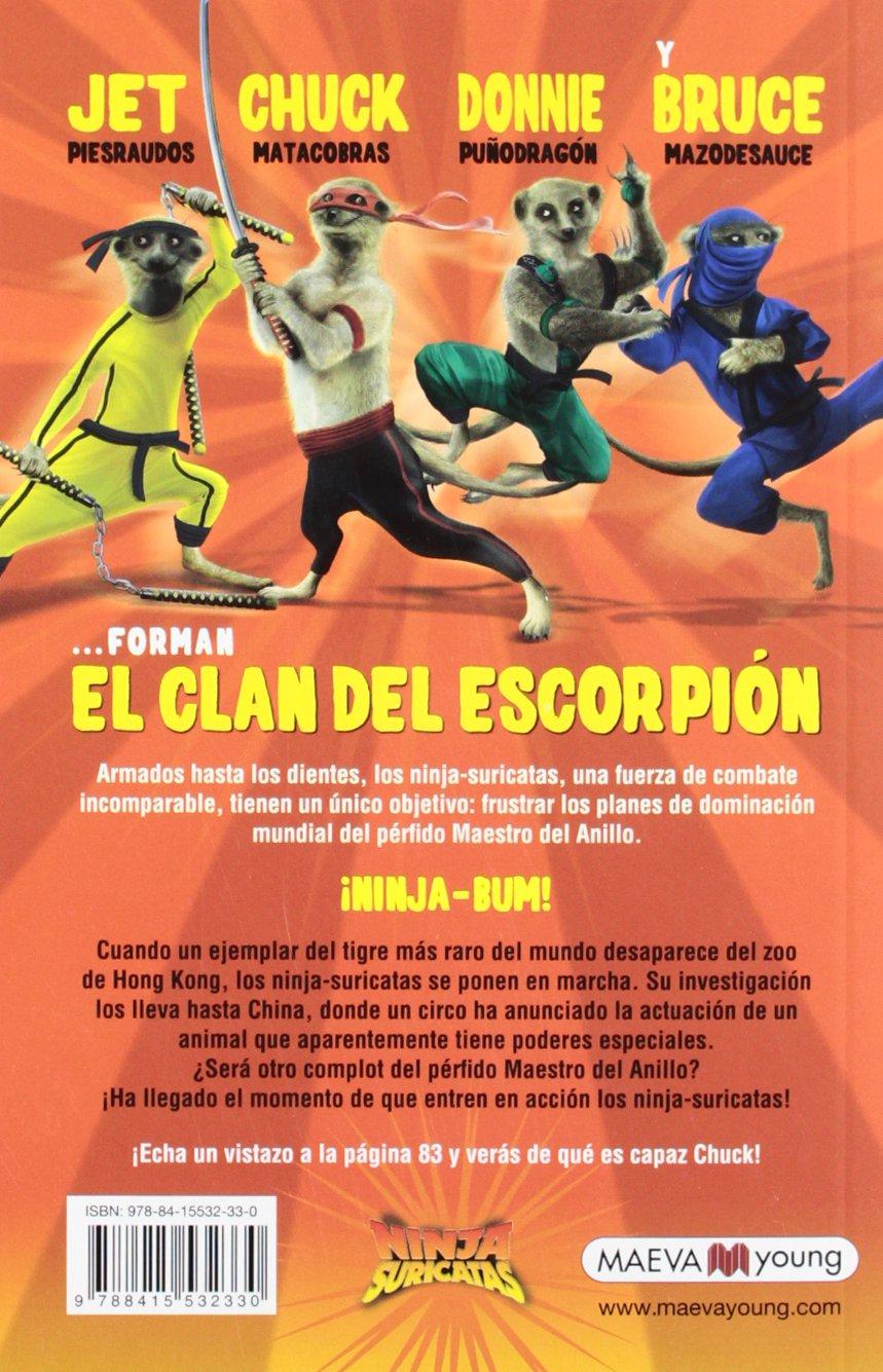 Amazon.com: Ninjas Suricatas. El clan del escorpión ...