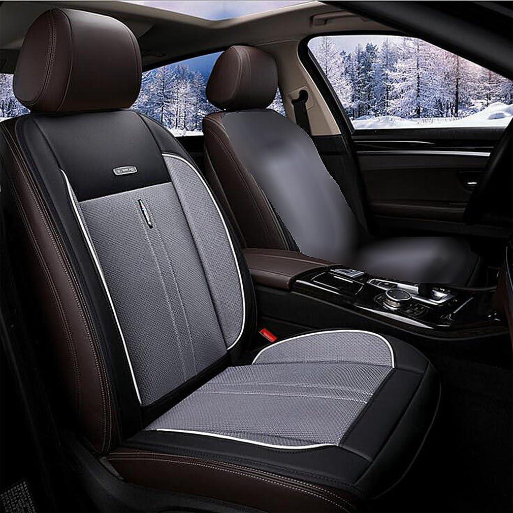 Cuscino Coprisedile Universale Auto Freddo Seta Ghiaccio Traspirante Vento Naturale Confortevole 24V,Black Cuscino Daerazione Estivo Multifunzionale Refrigerante