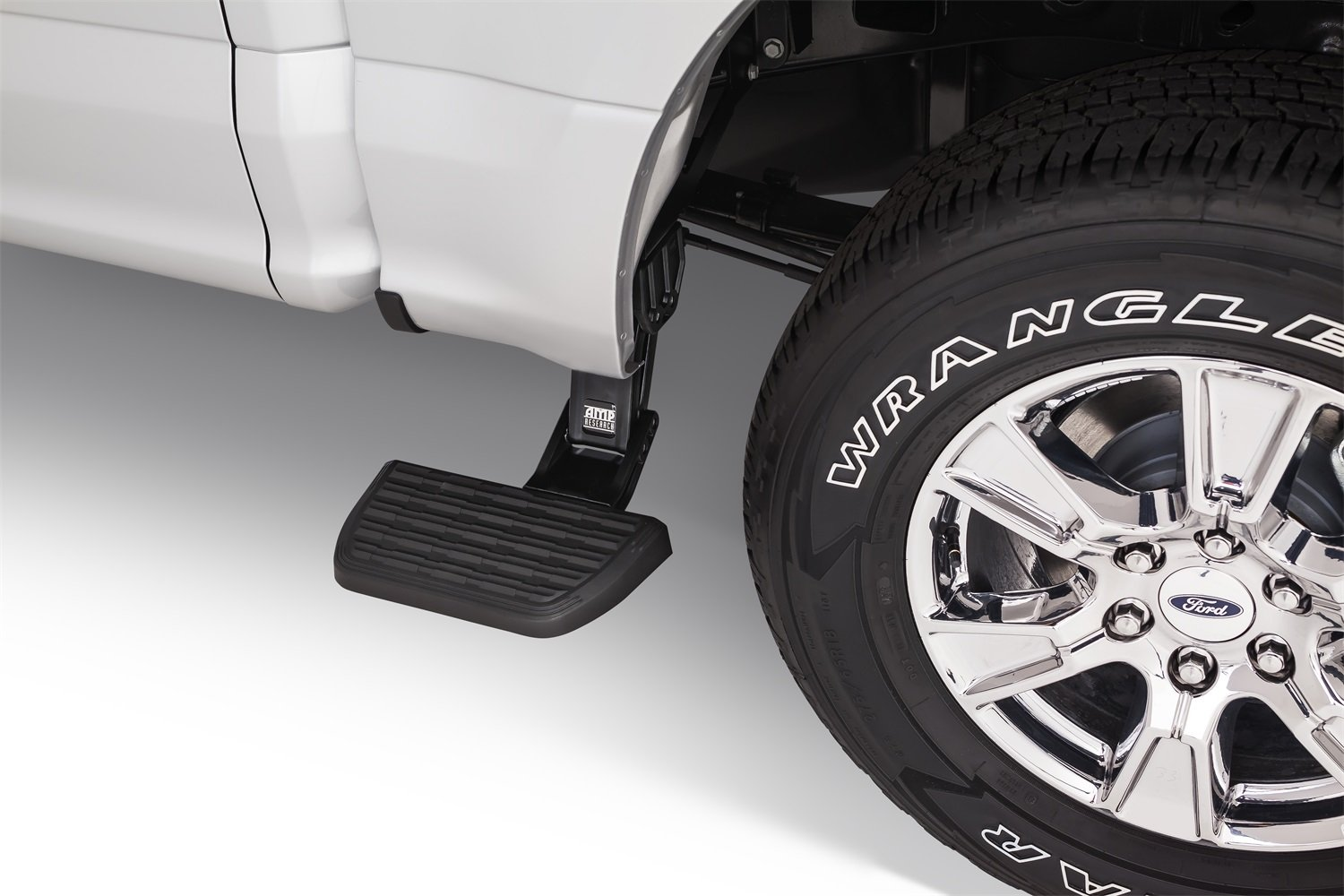 AMP Research 75312-01A BedStep Retractable Bumper Step, Ford F-150 (2015 - 2019) by AMP Research