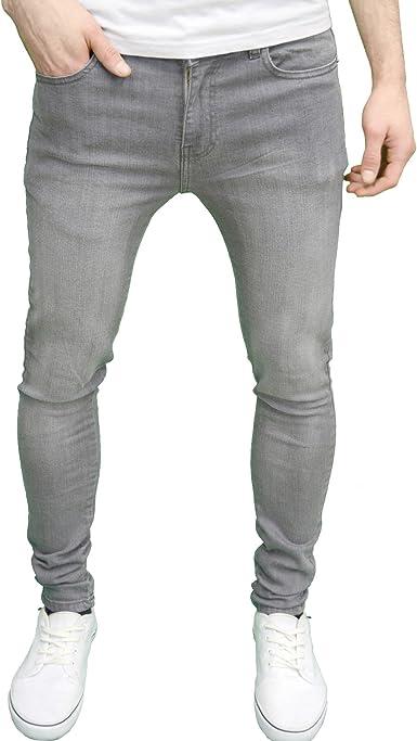 TALLA 28W / 30L. 526Jeanswear Senjo - Pantalones vaqueros elásticos para hombre